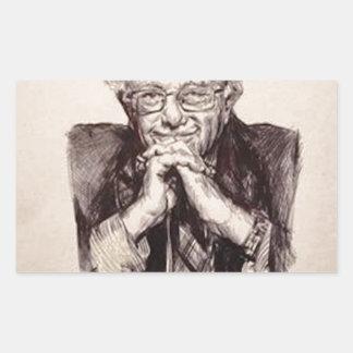 Pegatina Rectangular Chorreadoras de Bernie de Billy Jackson