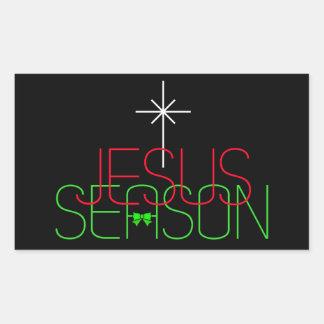 Pegatina Rectangular Estación de Jesús