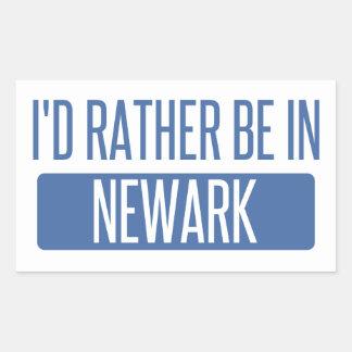 Pegatina Rectangular Estaría bastante en Newark NJ