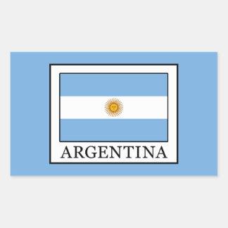 Pegatina Rectangular La Argentina