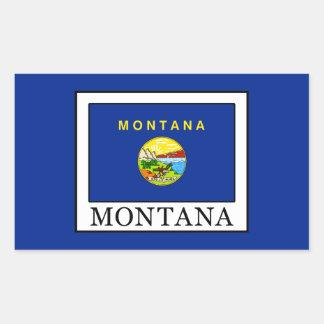 Pegatina Rectangular Montana