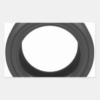 Pegatina Rectangular Neumático de automóvil