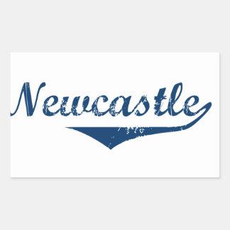 Pegatina Rectangular Newcastle