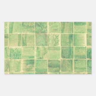 Pegatina Rectangular Pared abstracta
