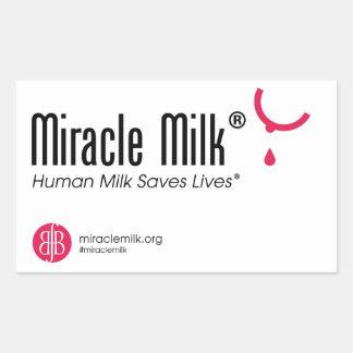 Pegatina Rectangular ¡Pegatinas de Milk® del milagro!!