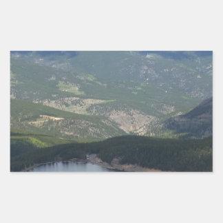 Pegatina Rectangular Soporte Evans, Colorado