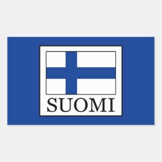 Pegatina Rectangular Suomi