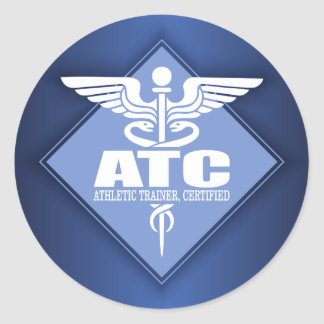 Pegatina Redonda ATC del cad (diamante)