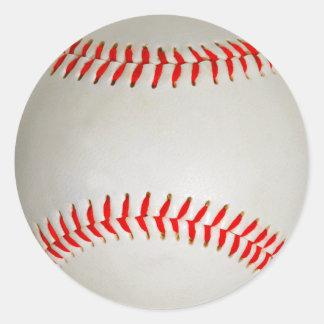 Pegatina Redonda Béisbol