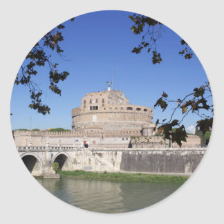Pegatina Redonda Castel Sant Ángel