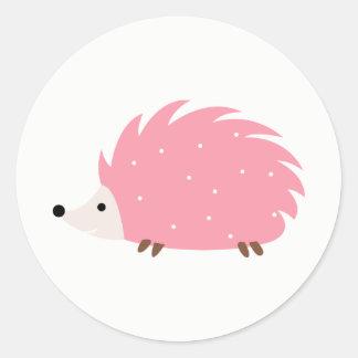 Pegatina Redonda ¡Cerdo de Hedgey!!