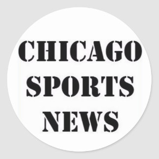 Pegatina Redonda Chicago se divierte noticias