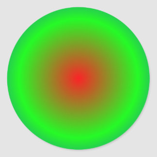 Pegatina Redonda Círculos concéntricos #22