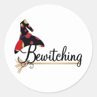 Pegatina Redonda El Bewitching