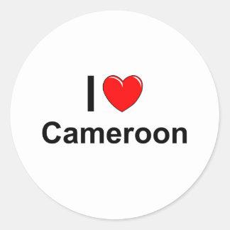 Pegatina Redonda El Camerún