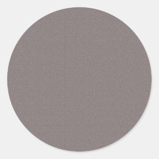 Pegatina Redonda El espacio en blanco de la plantilla añade su gris