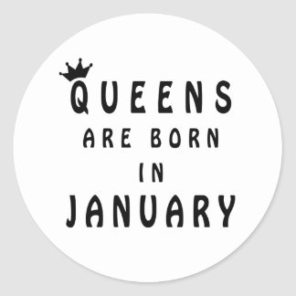 Pegatina Redonda El Queens nace en enero