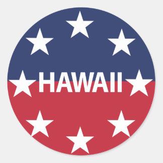 Pegatina Redonda Estándar del gobernador de Hawaiʻi