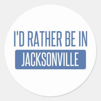Pegatina Redonda Estaría bastante en Jacksonville NC