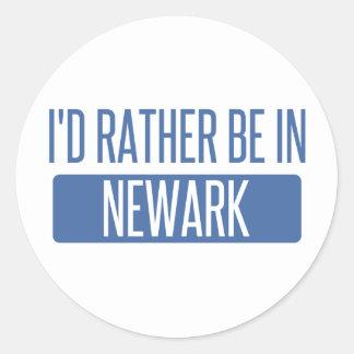 Pegatina Redonda Estaría bastante en Newark CA
