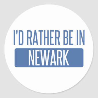 Pegatina Redonda Estaría bastante en Newark NJ