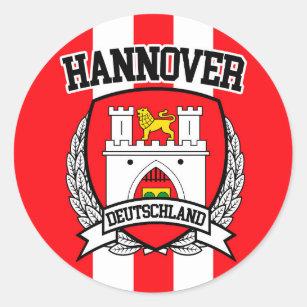 Pegatina Redonda Hannover