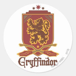 abd1ed331 Pegatina Redonda Insignia de Harry Potter el