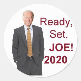 Pegatina Redonda Joe Biden 2020