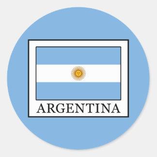 Pegatina Redonda La Argentina