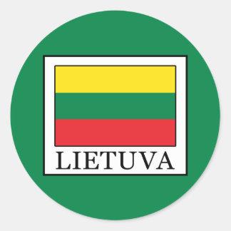 Pegatina Redonda Lietuva