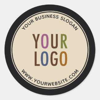 Pegatina Redonda Logotipo de Custom Promotional Business Stickers