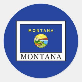 Pegatina Redonda Montana
