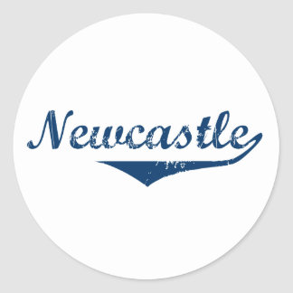 Pegatina Redonda Newcastle