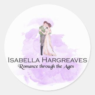 Pegatina Redonda Pegatinas de Isabel Hargreaves