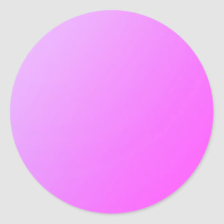 Pegatina Redonda Rosa llano de la sombra: Escriba encendido o añada
