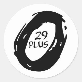 Pegatina Redonda rueda más de la bici del mountsin 29