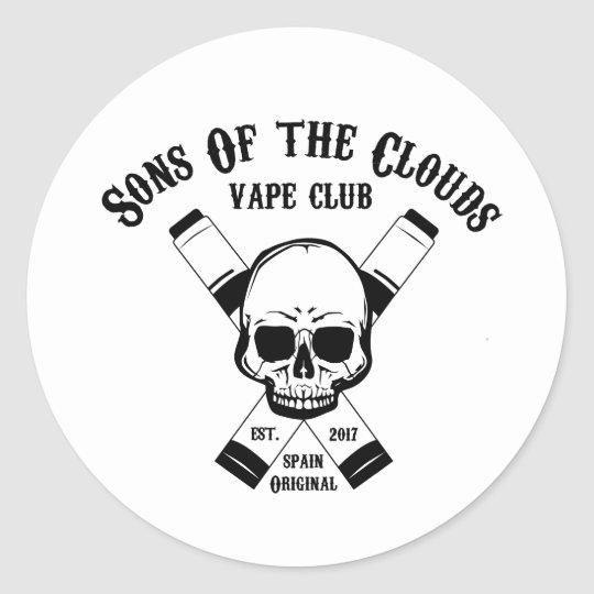 Pegatina Redonda Sons Of The Clouds Pegatinas
