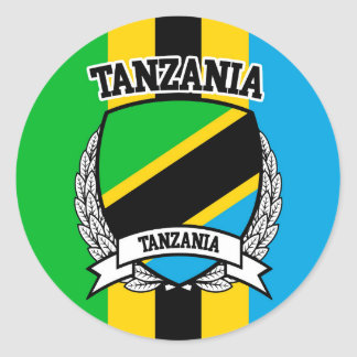 Pegatina Redonda Tanzania