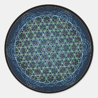 Pegatina sagrado de la geometría