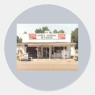 Pegatina - tienda general de Atoka de Andy