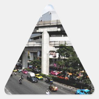 Pegatina Triangular Bangkok