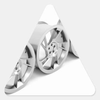 Pegatina Triangular Bordes de la aleación
