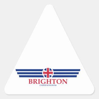Pegatina Triangular Brighton