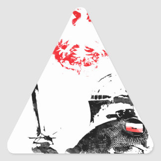 Pegatina Triangular Caballero polaco