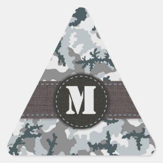 Pegatina Triangular Camuflaje urbano