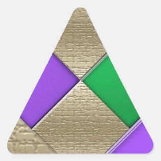 Pegatina Triangular Carnaval