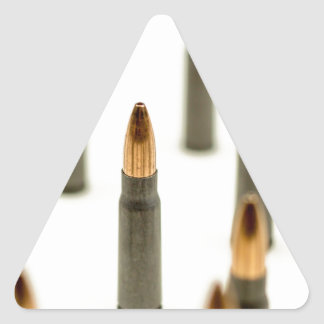 Pegatina Triangular Cartucho 7.62x39 de AK47 de la bala de la munición
