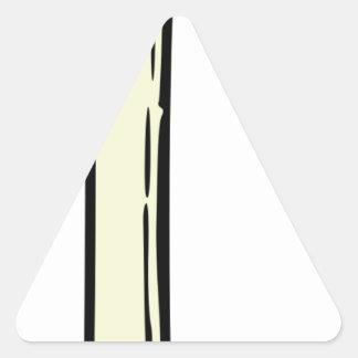 Pegatina Triangular Cebolla de la primavera
