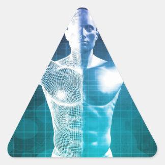Pegatina Triangular Ciencia médica
