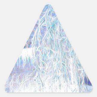 Pegatina Triangular Después del resplandor Icestorm-Verde